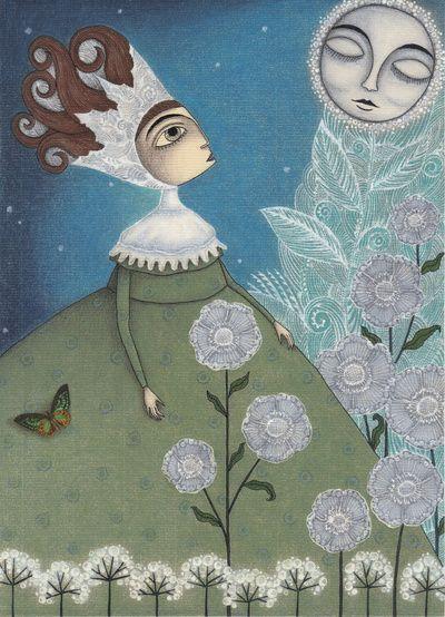 Soon, soon, Winter Moon!  by Judith Clay