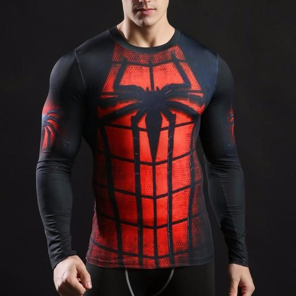 Super Hero Spider Man réversible Crossfit Freak poignet Wraps soutient Custom