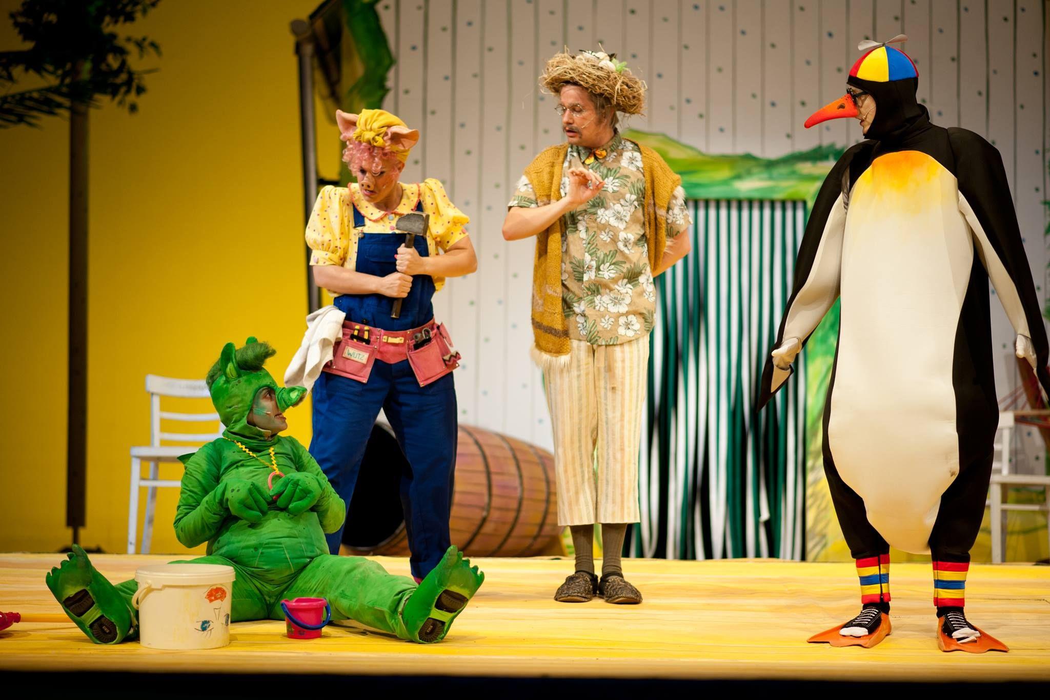 // Musical für kleine und große Kinder // Nach dem Kinderbuch von Max Kruse // Bühnenbearbeitung von Frank Pinkus // Musik von Ines Lange und Jan-Henning Preuße