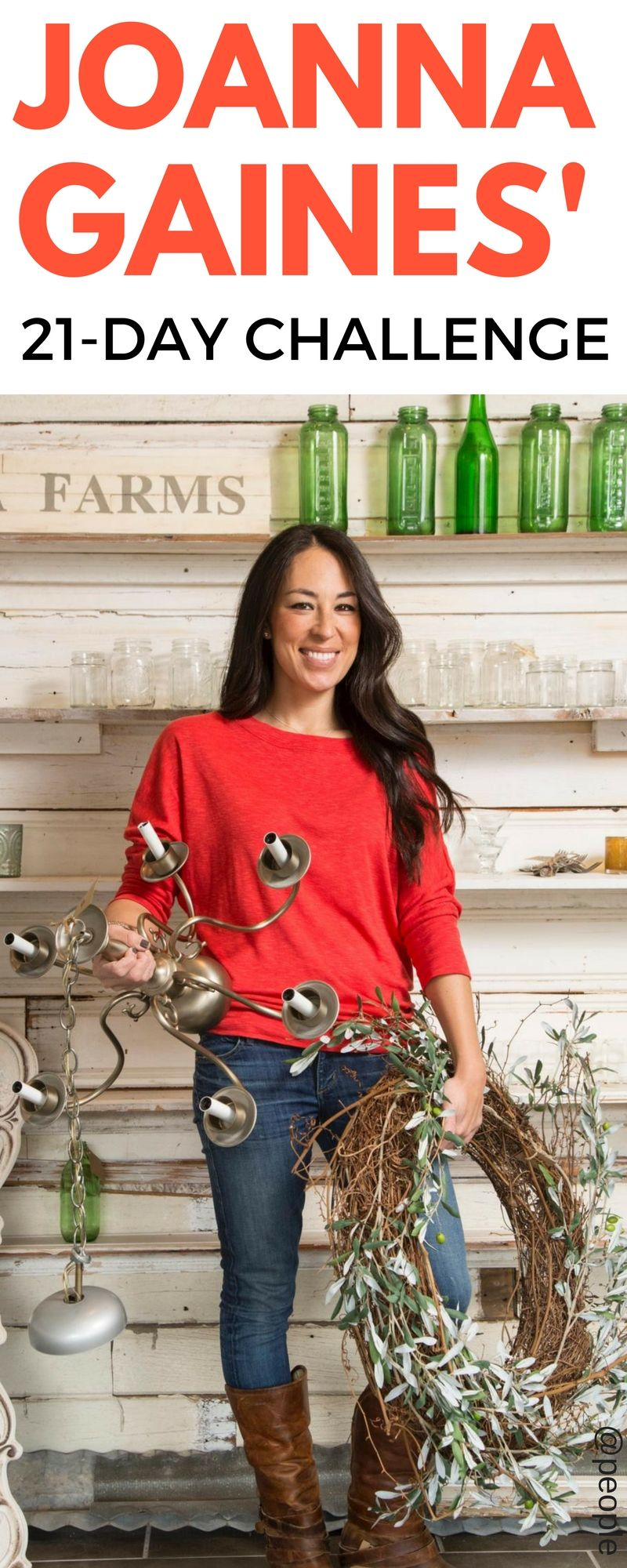 Joanna Gaines Tips For Decorating Living Rooms: You Have To Try Joanna Gaines' 21-Day New Year's