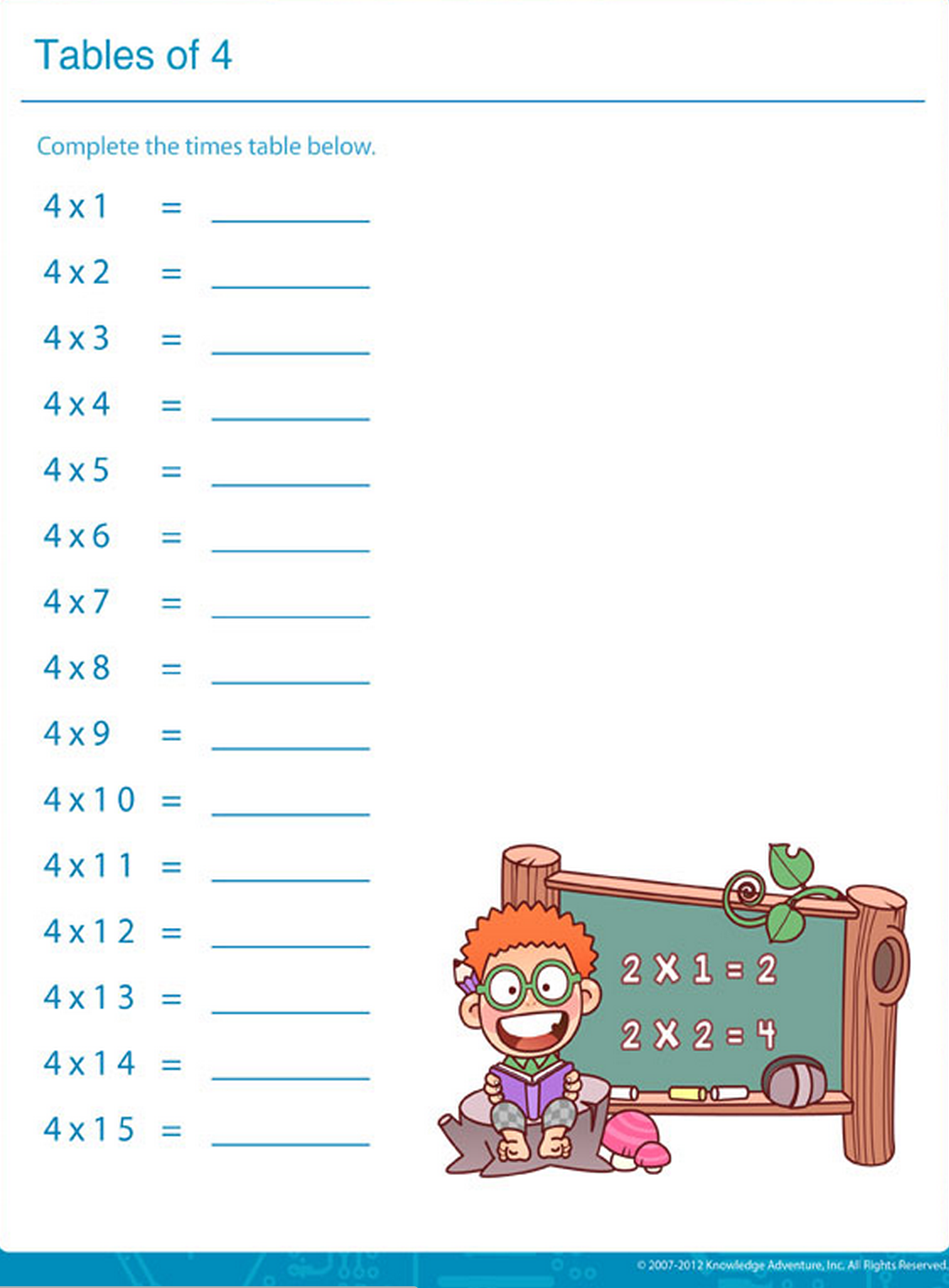 An Easy And Fun Way To Learn Times Table Math