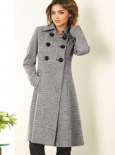b853090bbcb2e Bayan Manto Modelleri | Things to Wear | Elbiseler, Moda, Kürk mantolar
