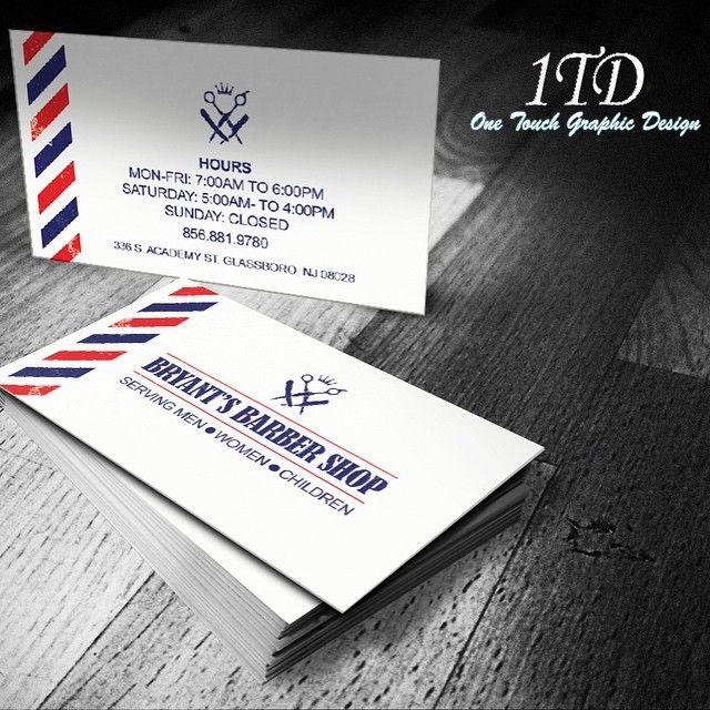 Businesscard design bryants barbershop graphics businesscard design bryants barbershop graphics graphicdesigner logodesign flyerdesign colourmoves