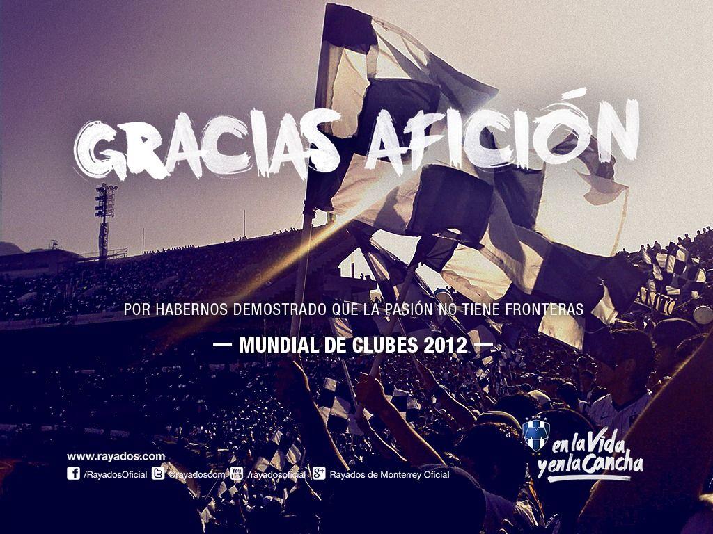 Mundial De Clubes: ¡Gracias #Rayados, 3er Lugar En El Mundial De Clubes! La