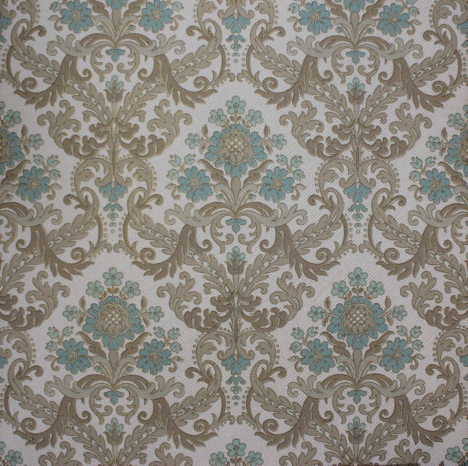 Find This Pin And More On Wallpapers This Week My Focus Has Been On Listing Vintage Damask Wallpaper On Etsy