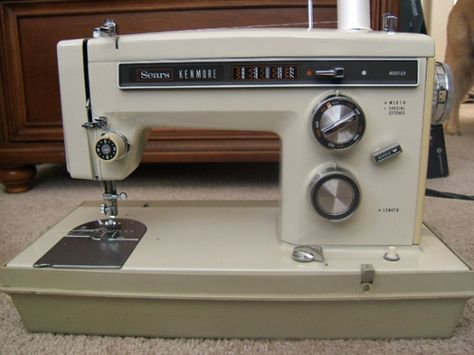 Kenmore Sewing Machine Parts Sewing Machines Pinterest Cool Sears Sewing Machine Parts