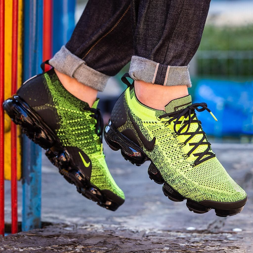 Neon Nike Air Vapormax Flyknit 2 This Model Probably Does Not Need