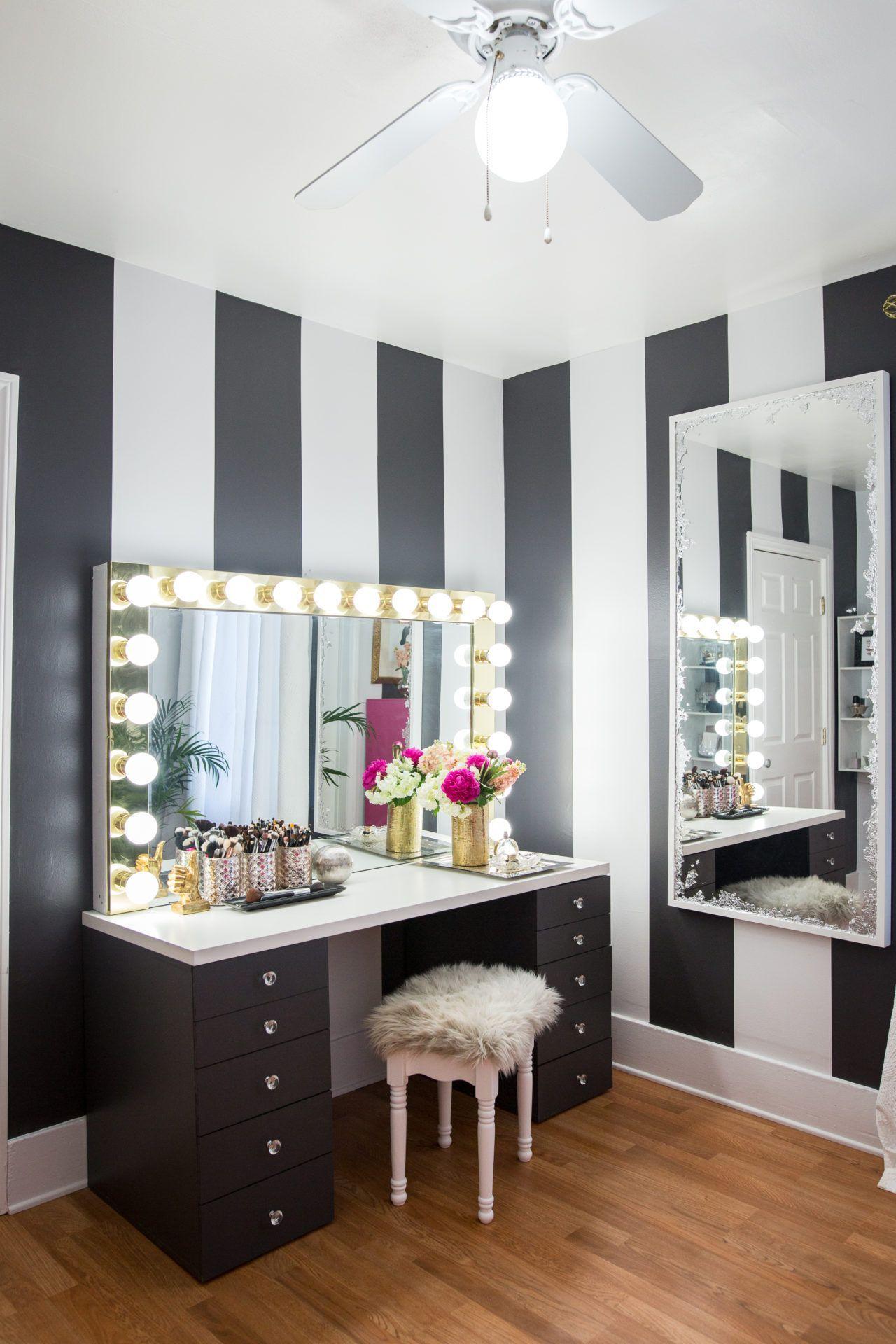 Mr. Kate Under 300 Glam Room Makeover Home decor