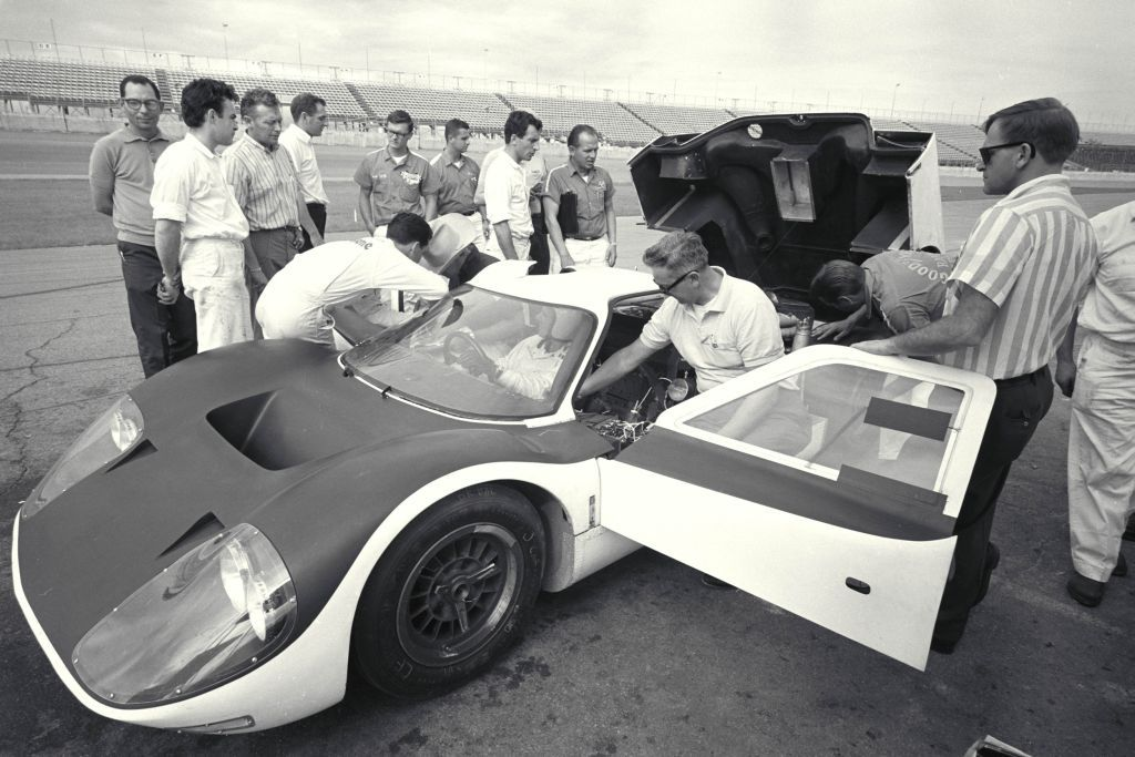 1966 J Car Suffered A Chssis Failure During The December Daytona