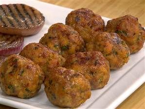 Make Giada's classic Italian turkey meatballs - I made these for Josh, and I think now he loves me more than ever.
