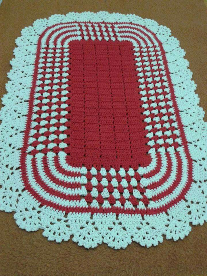 Nice table topper | Fotos | Pinterest | Tapetes, Ganchillo y Tejido
