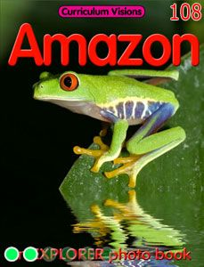 A Visual Book About The Amazon River Put The Book Up On The