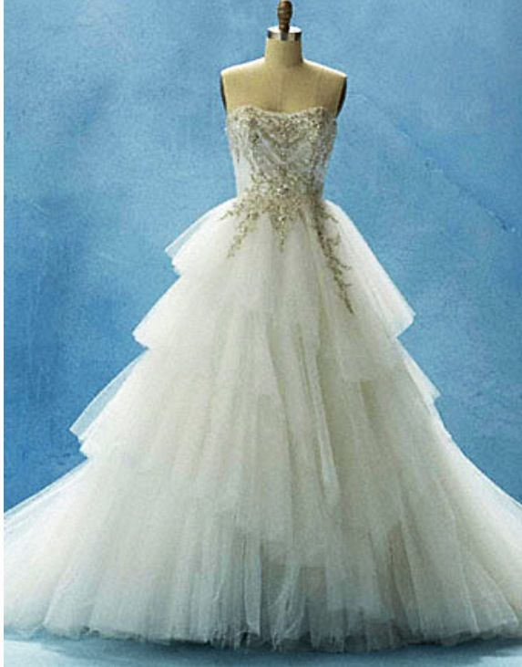 Cinderella wedding dress | wedding | Pinterest | Cinderella wedding ...