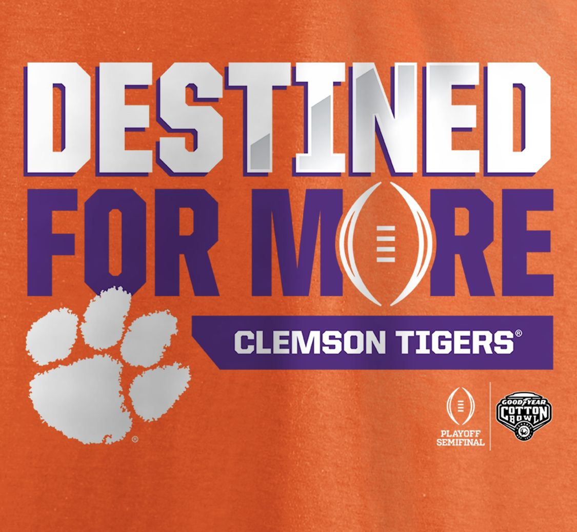 Go Tigers Two More To Perfection Goal 15 0 Clemson Tigers Clemson Football Clemson