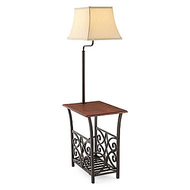 Elegant Jcp | JCPenney Home™ Magazine Rack Side Table With Lamp