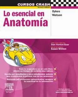 Cursos Crash Lo Esencial en Anatomía | booksmedicos