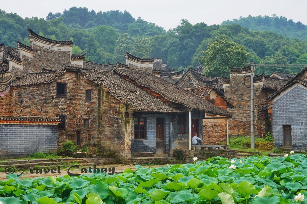 A view of Banliang from one of the geomantic ponds The ancient village Banliang 板梁古村 is situated in Yongxing Township 永兴镇, Gaoting county 高亭乡 just 40 km north of Chenzhou 郴州 in southern Hunan province. Chenzhou is located on the high speed rail line between Changsha (Hunan) and Shaoguan (north Guangdong)