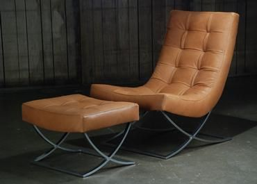 Sicily Camel Leather Chair   Mecox Gardens