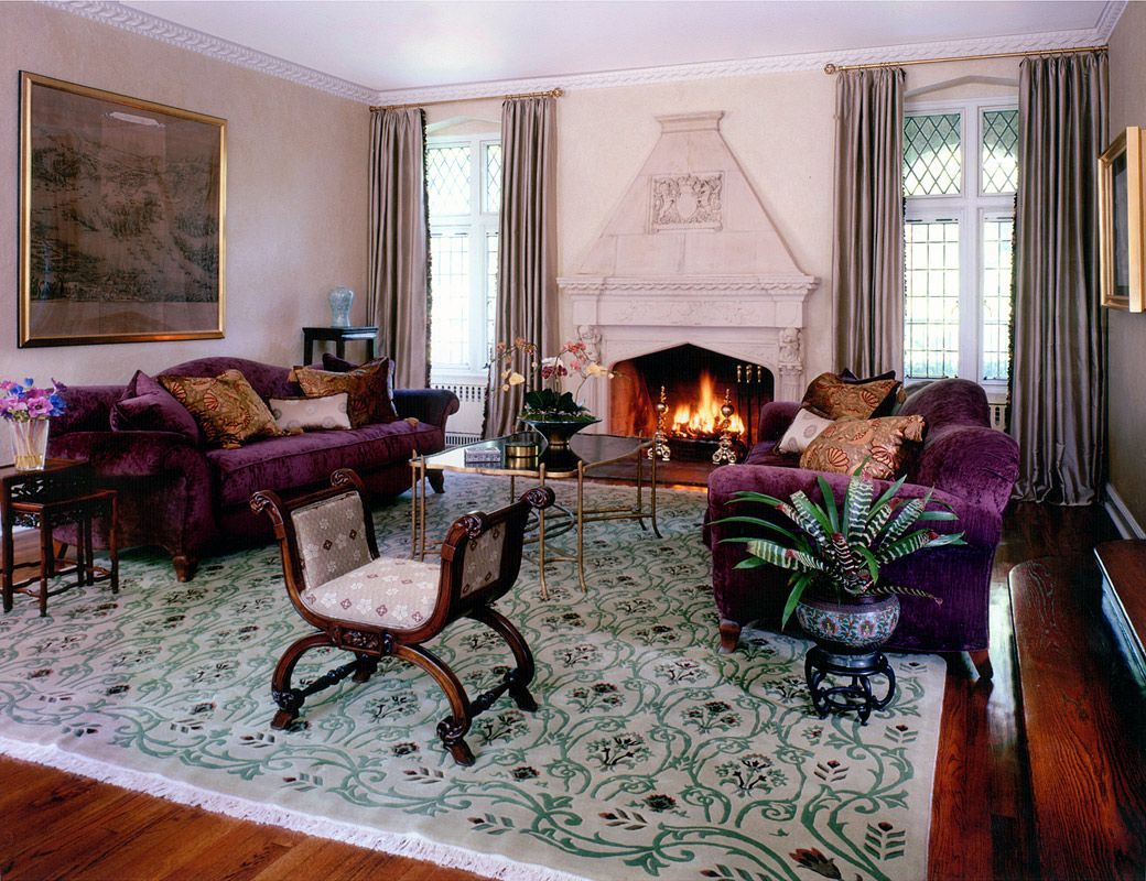 English Tudor Interior Design | ... Cramer   Interior Design And Decoration    New York   English Tudor