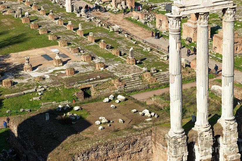 Aerial View Of Roman Forum | Fine Art America photos & Art | Roman