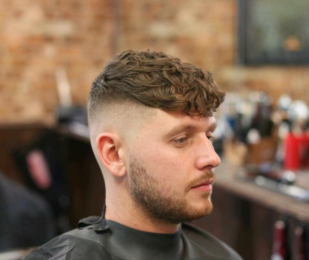 Haircuts for wavy hair men menus wavy hairstyles  wavy hair men high fade and wavy hair