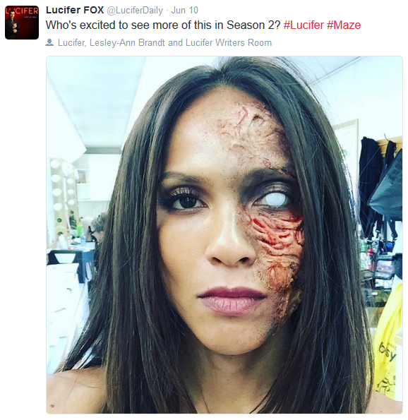 #Lucifer #Season2 #Maze Oh No! What Happened To Her? Or