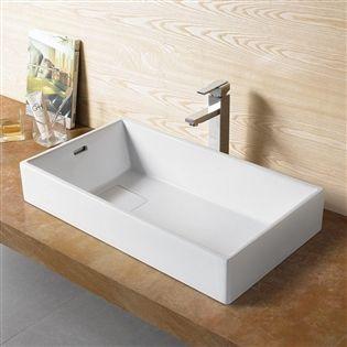 Zdjęcie Umywalka Nablatowa Rea Nicola 71x40 729 Zł Bathroom