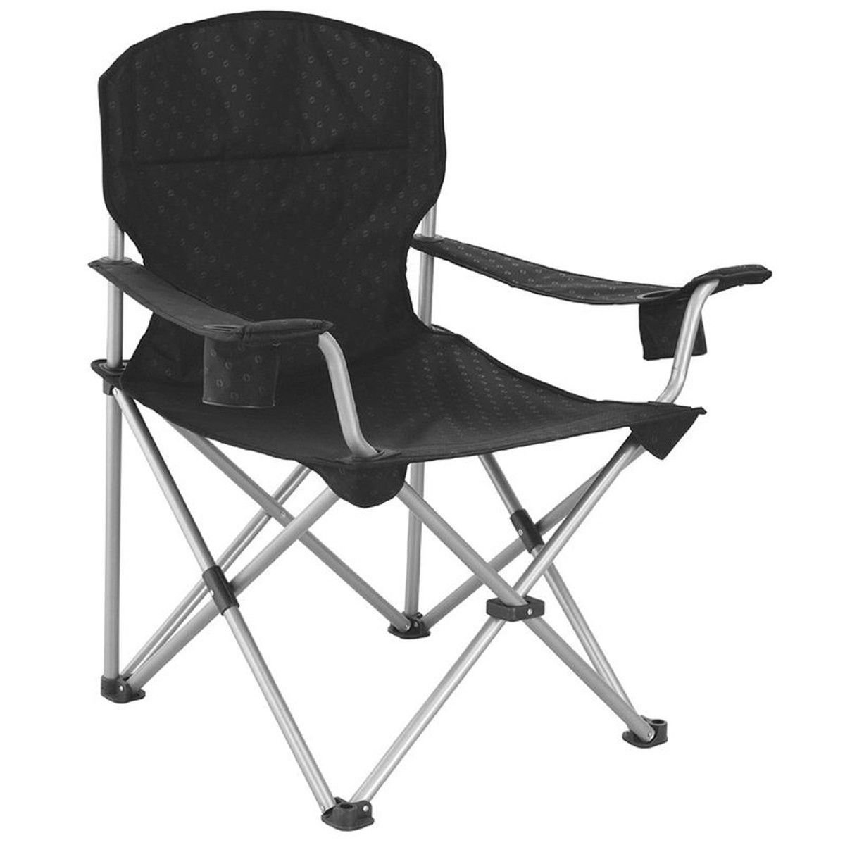 Catamarca Siege Camping Arm Chair Xl Noir Taille Taille Unique Chaises De Camping Siege Camping Et Chaise
