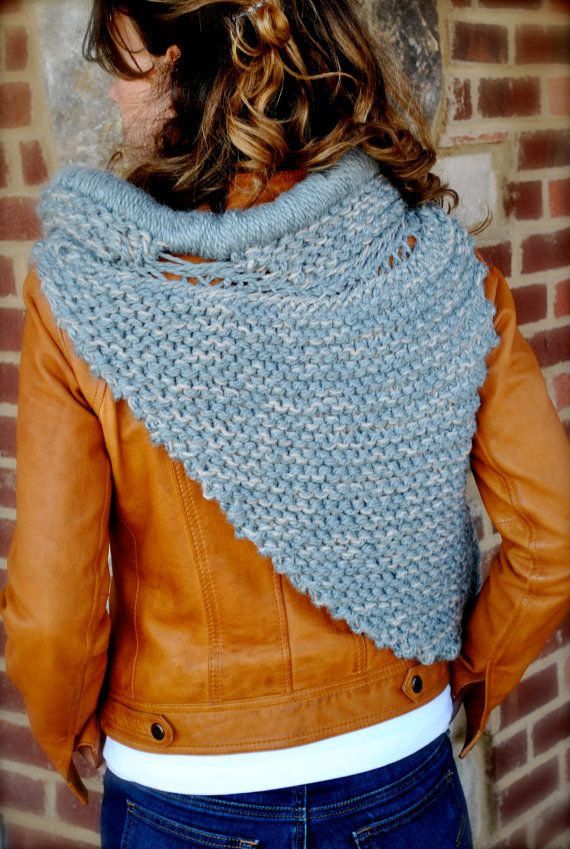 Cowl Shawl Scarf Katniss Cowl Ready to ship Handmade Triple | bolsos ...