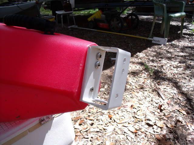 Easy DIY Kayak Rudder  - Pensacola Fishing Forum   Kayak