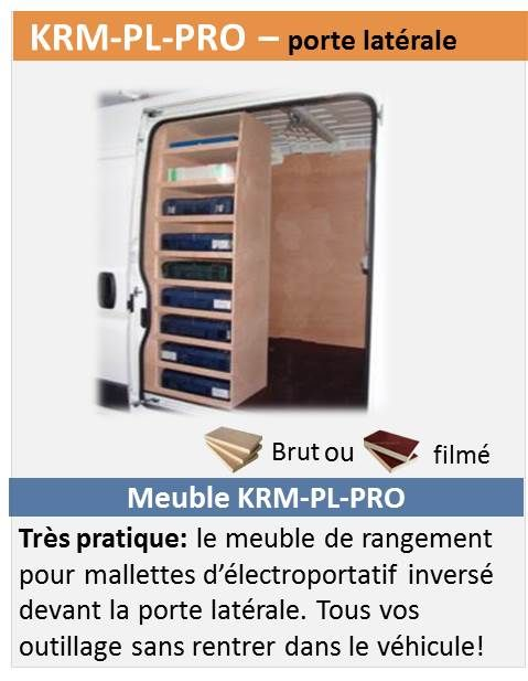 Krm pl pro caisse outils pinterest am nagement fourgon et utilitaire - Outil pour deplacer meuble ...