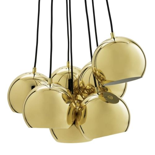 BALL MULTI laiton suspension, Frandsen | Chandeliers and Luster