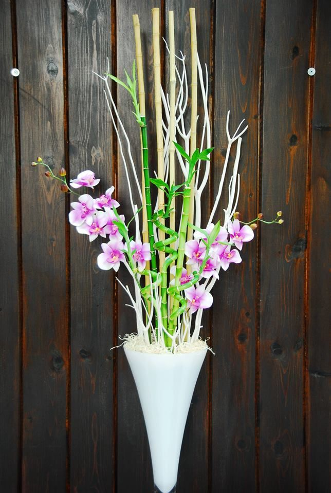 Orchid Bamboo Arrangement By Plant Decor Toronto On Plant Decor Lucky Bamboo Orchids