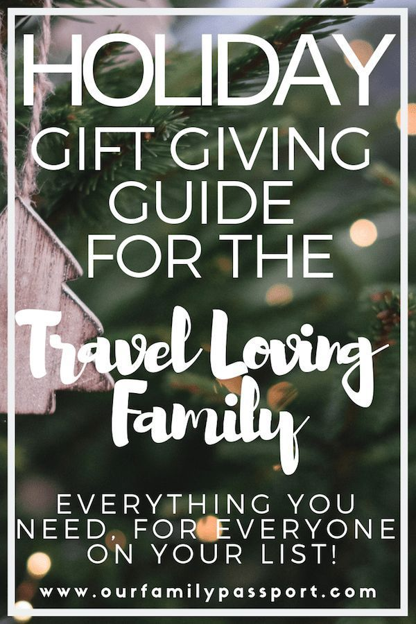 TRAVEL TIPS | This Holiday Gift Guide is perfect for the whole family and is tailored for those who are travel obsessed! So get reading and give the perfect gift to the travel lover in your life this year! | travel gift guide, travel gift guide holidays, holiday gift guide, gift guide for the whole family, holiday gift guide travel. #familytravel #giftguide #giftoftravel