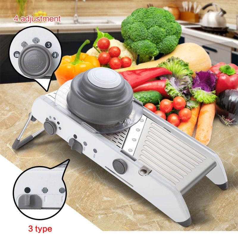 Vegetable Cutter Manual Adjustable Mandoline Slicer Potato Kitchen Amazing Kitchen Mandoline Review