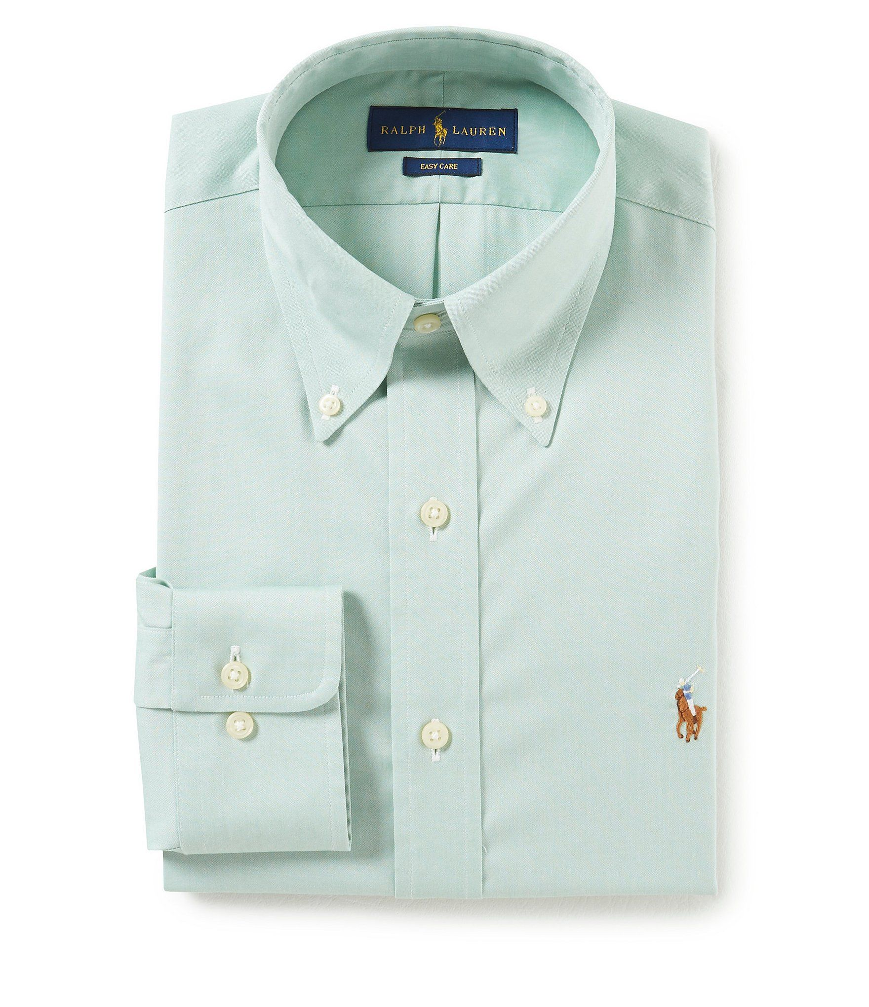 Shop for Polo Ralph Lauren Easy Care Standard Fit Button-Down Collar Solid  Oxford Dress Shirt at Dillards.com. Visit Dillards.com to find clothing 144448e8222
