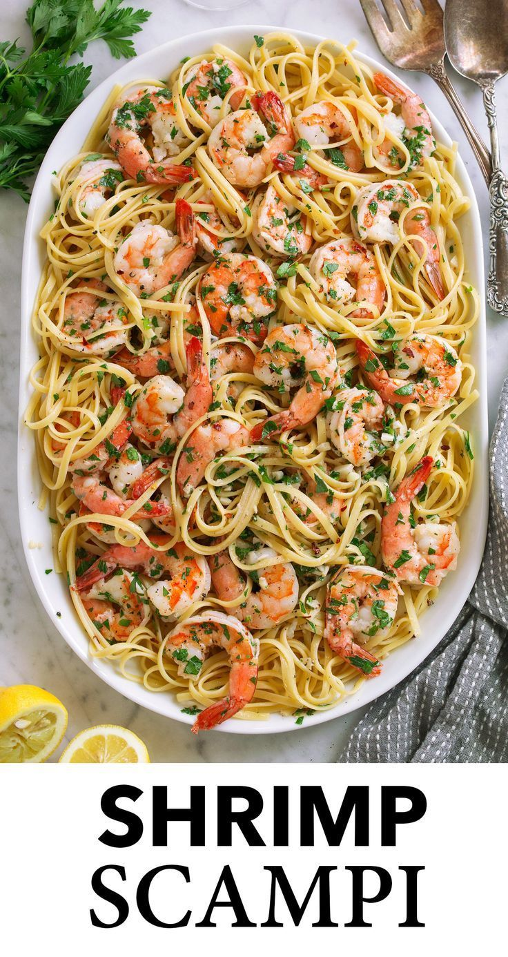 Photo of Shrimp, Scampi! It's deliciously saucy, completely rich and buttery and amazing …