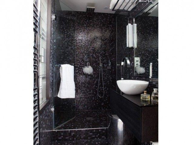 douche et lavabo dans 4m2 en longueur | salle de bain | Pinterest ...