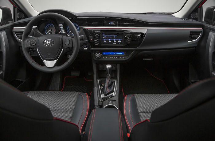 2016 Toyota Corolla Sport Black Interior Toyota Corolla Toyota Corolla Sport Corolla Sport