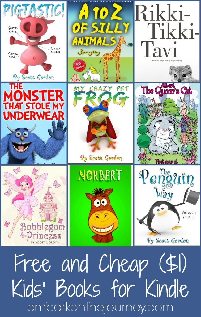 Free and Cheap Kids Books for Kindle 2 28 15 | Books, Books