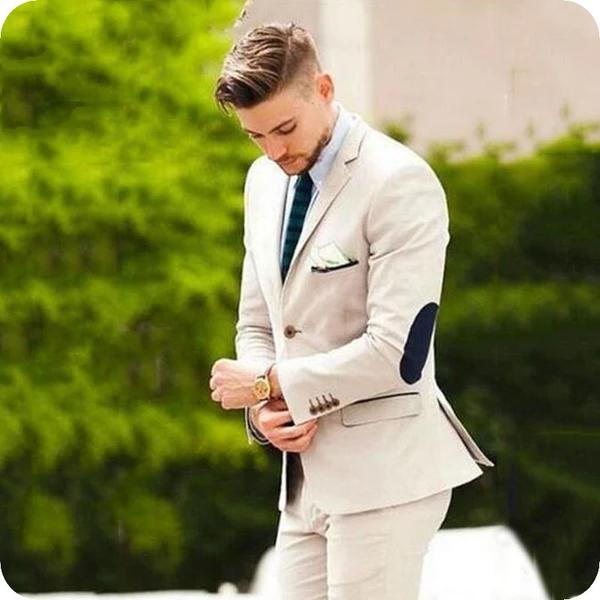 New Style Men/'s 2 Piece Jacket+Pants Wedding Groom Tuxedos Groomsman Party Suits