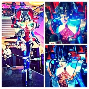 Miss USA Wore A Transformers Costume In The Miss Universe