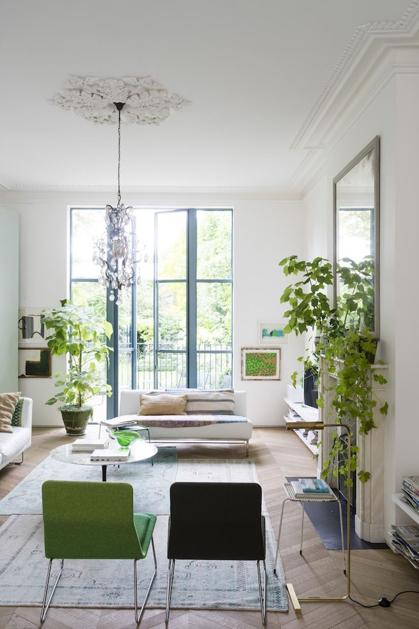 Mix of White & Green Victorian Style House in London | Pinterest ...