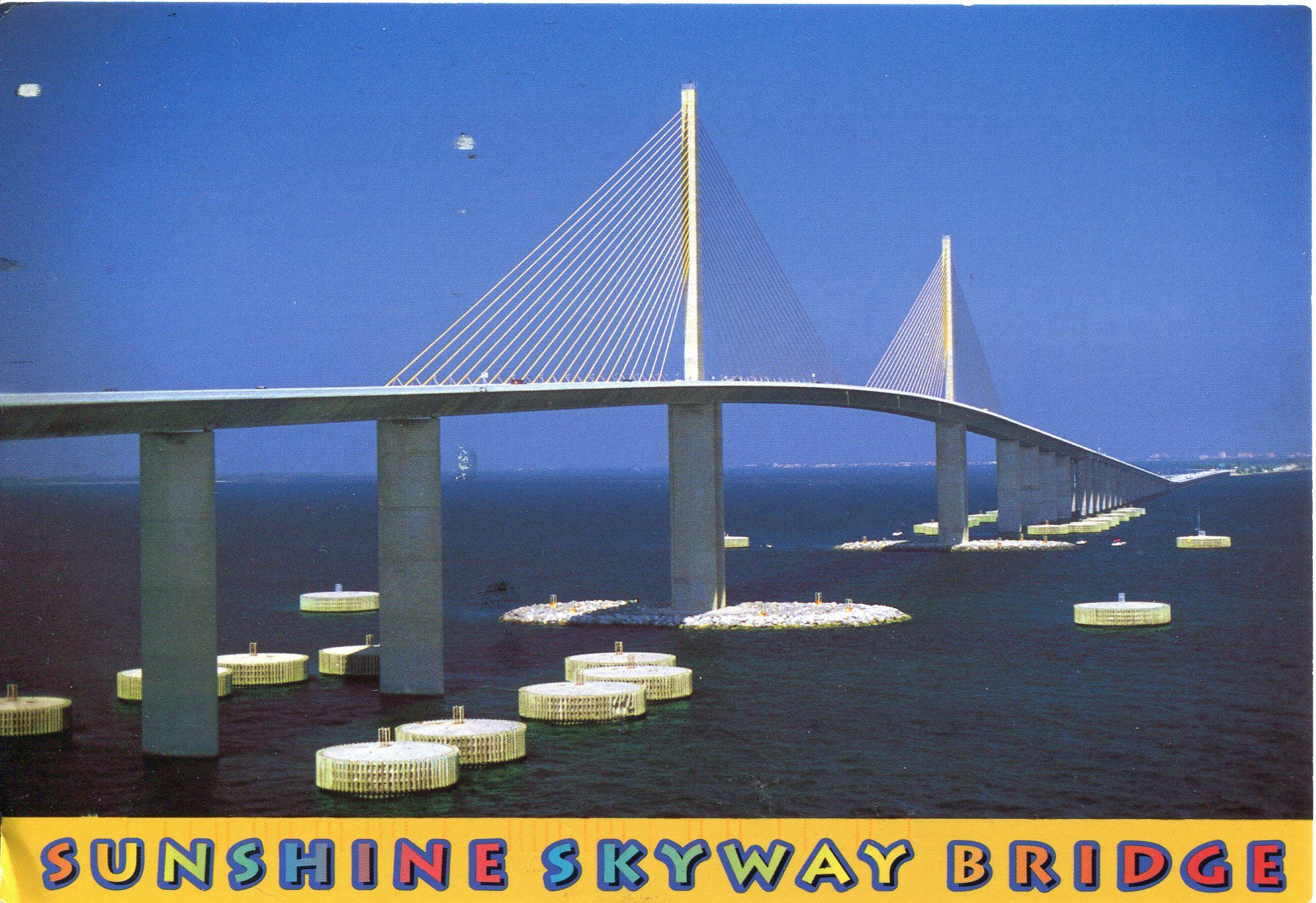 Sunshine Skyway Bridge Sunshine skyway bridge, Adventure