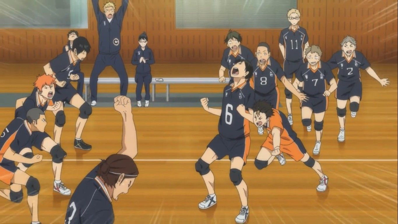 Pin By Gta On Haikyuu Haikyuu Volleyball Basketball Court