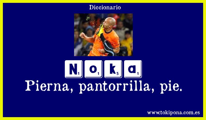 Noka - Pierna pantorilla pie...