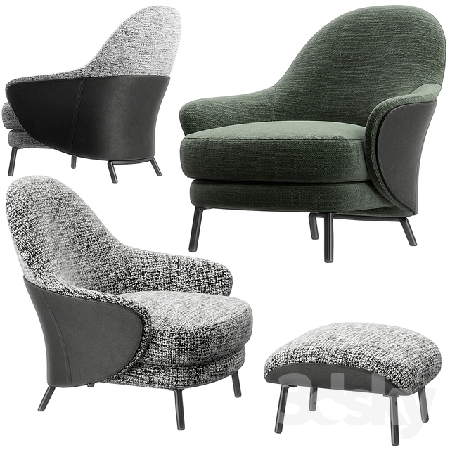 Pin By Mario Stoica On 3dsky Pickings Furniture Chair Footstool Armchair