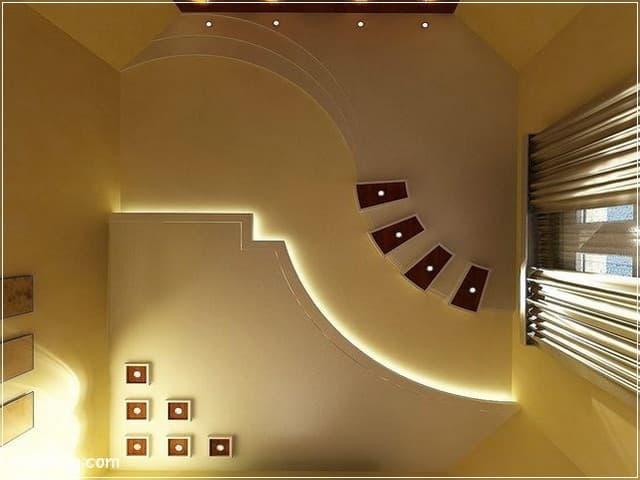 احدث افكار ديكور اسقف جبس بورد للصالات 2020 مميزة False Ceiling Design Ceiling Design Modern Bedroom False Ceiling Design