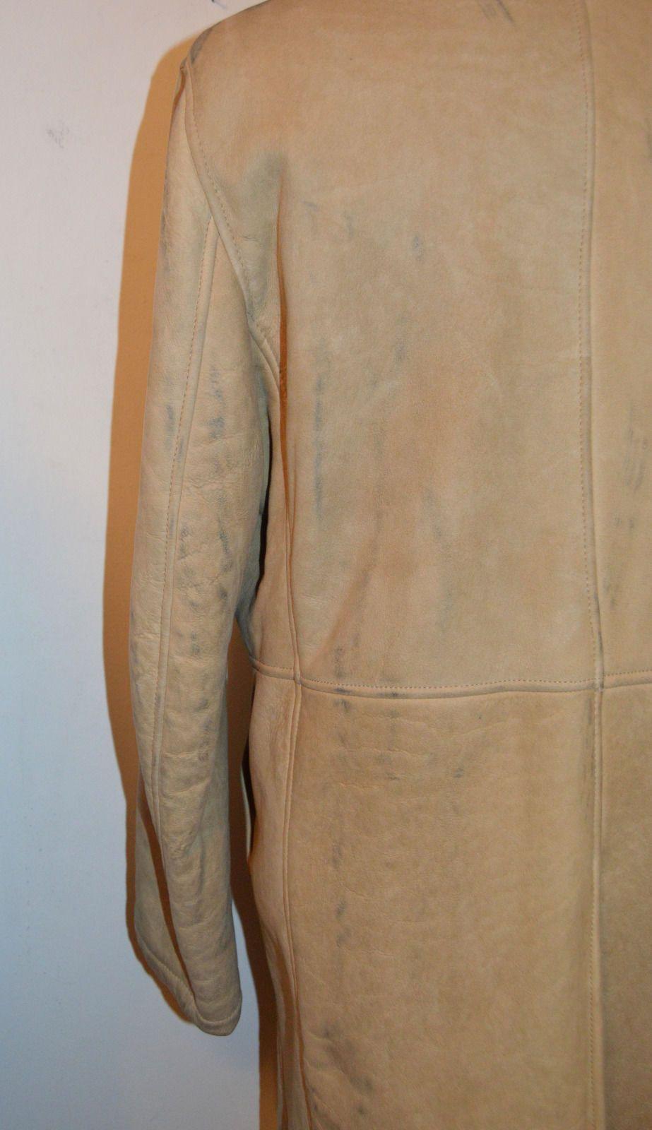 e750971b421df Vintage Helmut Lang A w 04 05 Shearling Camel Runway Coat Sz Sz 52 Large