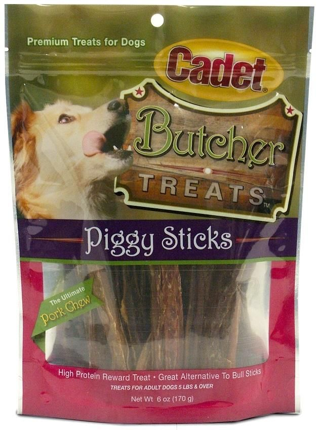 Cadet Butcher Treats Piggy Sticks Dog Treats Healthy Dog Treats